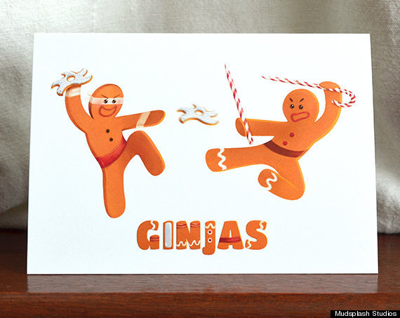 22 clever christmas cards that are actually funny huffpost source mudsplash studios m4hsunfo