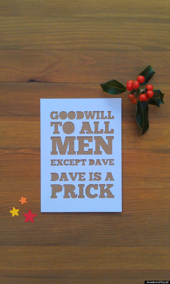 22 clever christmas cards that are actually funny huffpost goodwill m4hsunfo