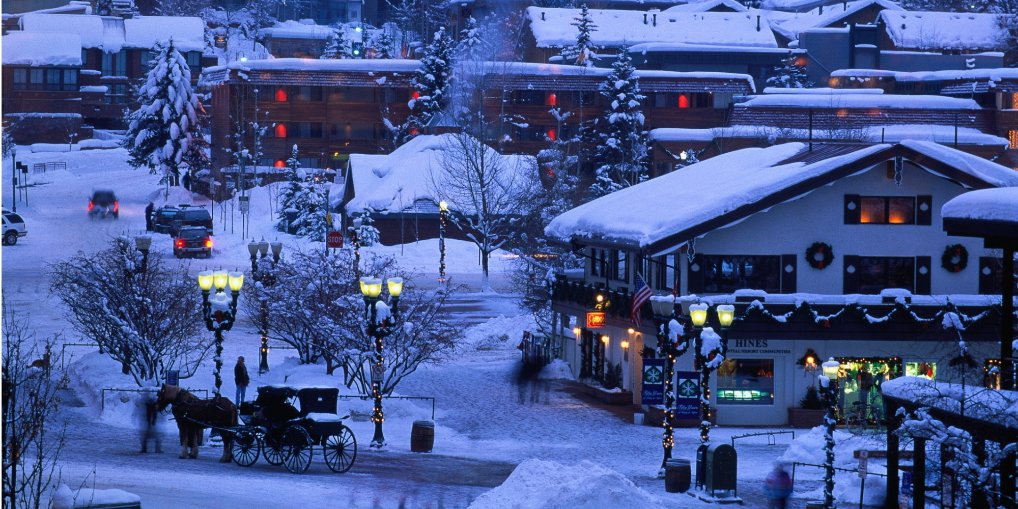 America 39 S Best Towns For The Holidays Photos Travel