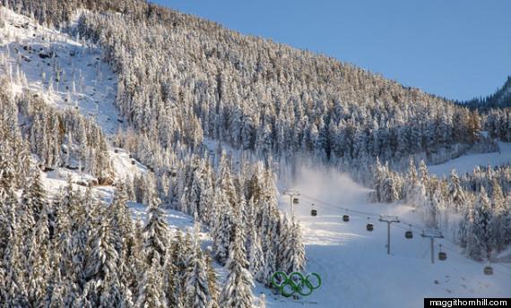 whistler ski in