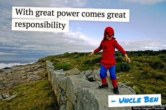 11 Inspirational Quotes From Superheroes That Might Just Give You Superpowers Huffpost