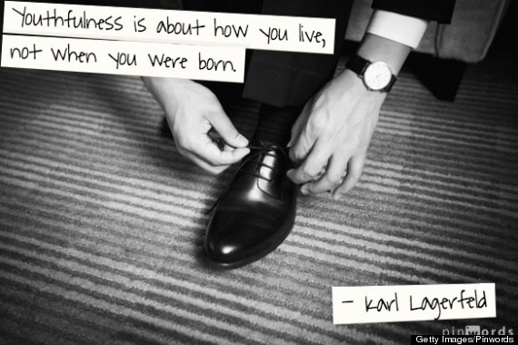 karl lagerfeld quote