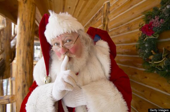 christmas shhh