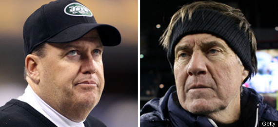 REX RYAN BILL BELICHICK ITS PERSONAL