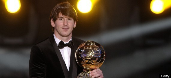 LIONEL MESSI FIFA WORLD PLAYER