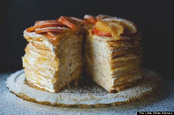crepe suzette cake