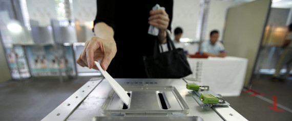 JAPAN ELECTION POLLS
