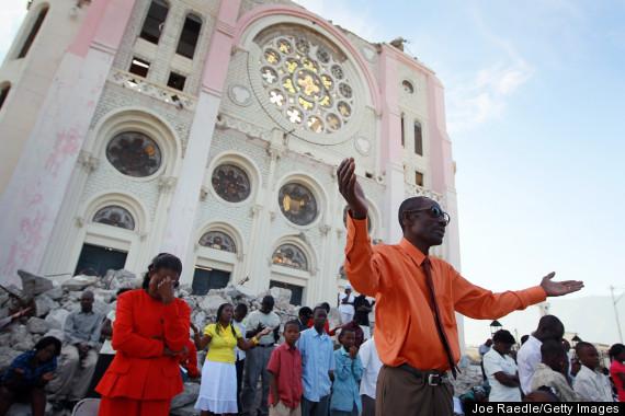 HAITI CHURCH RECOVERY