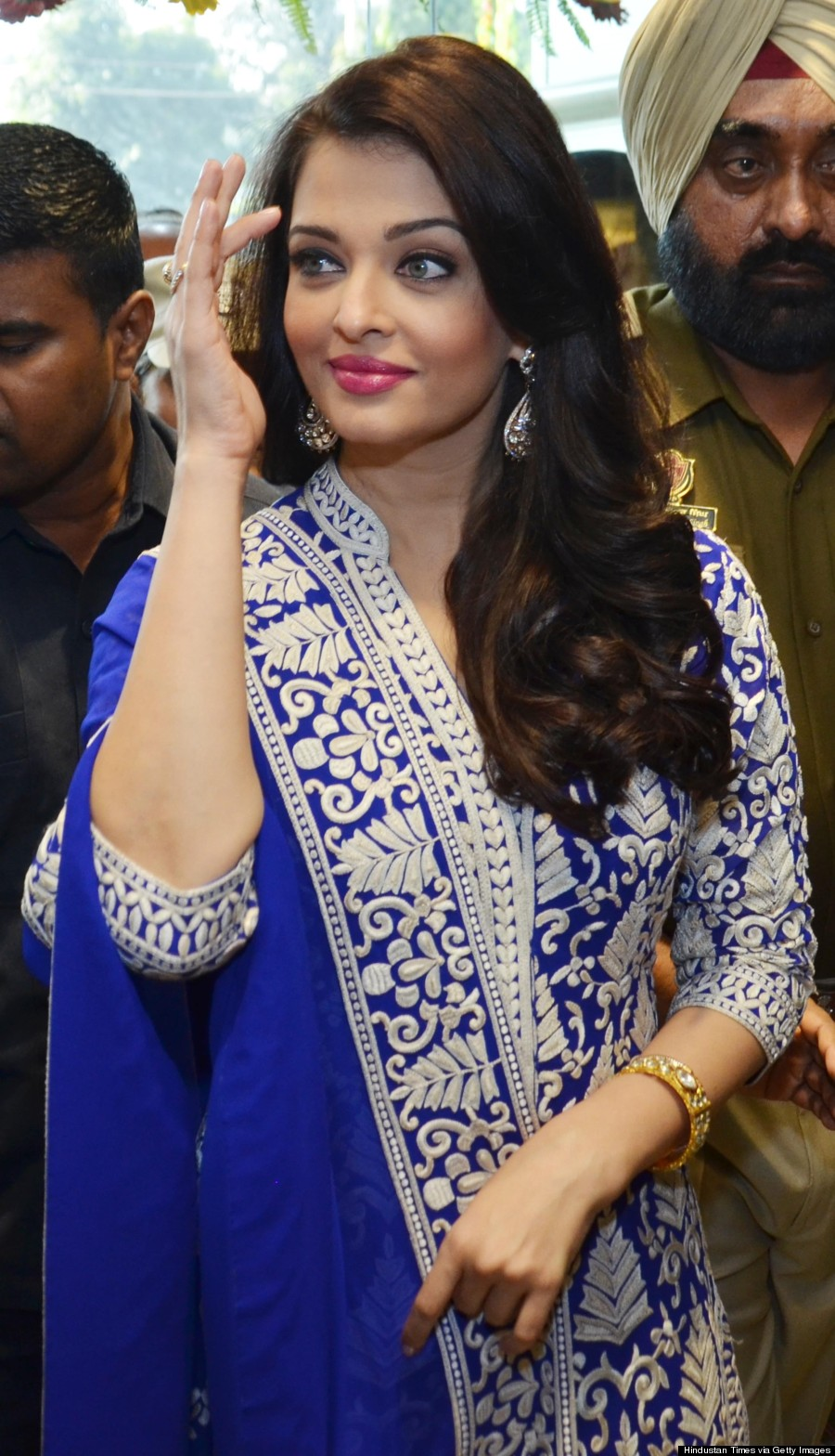 Aishwarya Rai Is A Vision In A Blue Suit And Gucci LBD