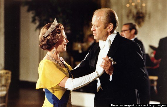 queen elizabeth gerald ford