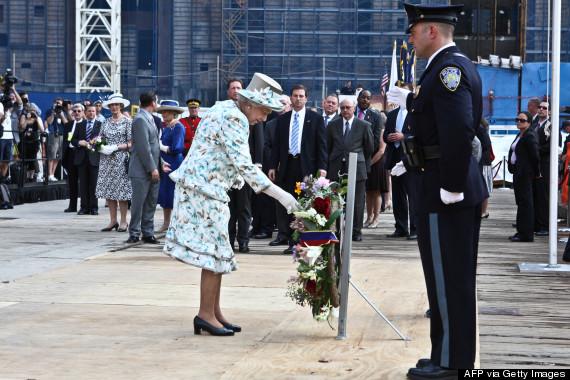 queen elizabeth ground zero