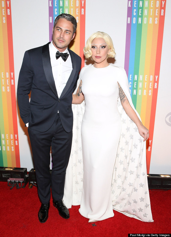Lady Gaga And Taylor Kinney Look Glamorous On The Red