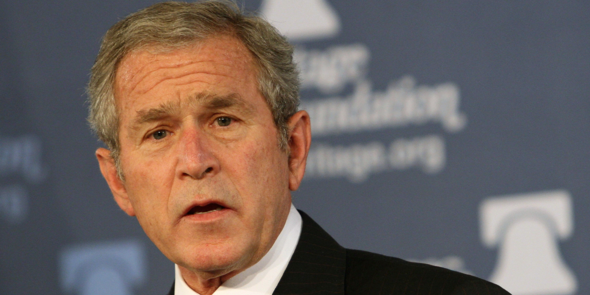 satire essay george bush Fictionalized portrayals of george w bush, the 43rd president of the united states, have become common since his inauguration on january 20, 2001many popular tv shows, magazines, books and comics have portrayed or satirized him.