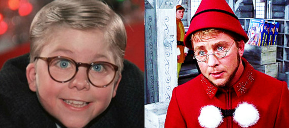 "Peter Billingsley, the child star of ""A Christmas Story,"" has a brief, uncredited appearance in ""Elf."" Although he directs and produces movies now, ..."