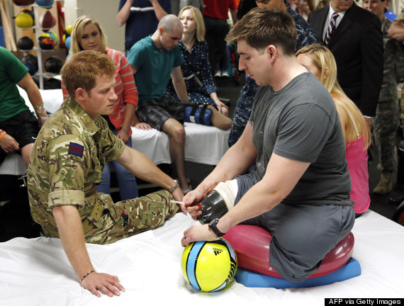 prince harry walter reed