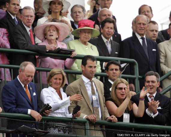 queen elizabeth kentucky derby