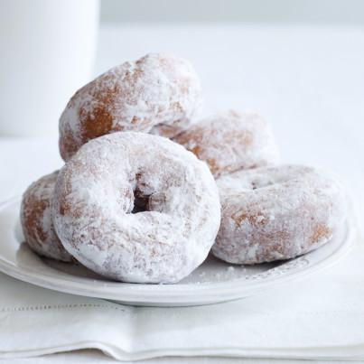 recipe: 1 cup granulated sugar to powdered sugar [7]
