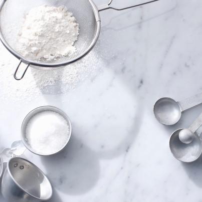 recipe: 1 cup granulated sugar to powdered sugar [27]