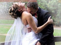 12 Painfully Awkward Wedding Kisses