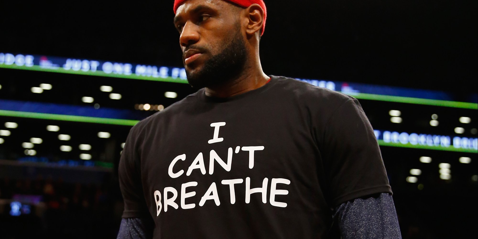 LeBron James Wears 'I Can't Breathe' T-Shirt In Solidarity ...