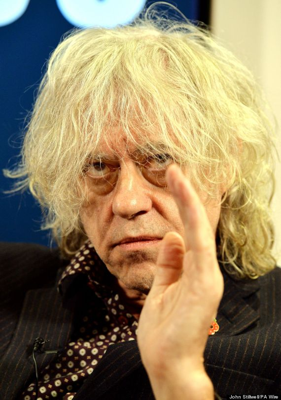Bob Geldof Net Worth