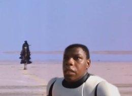 Star Wars' John Boyega Gets Everywhere...