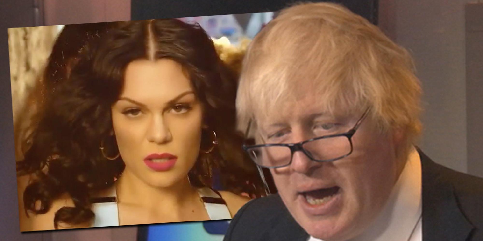 Boris johnson sings jessie j s bang bang to promote london new year s