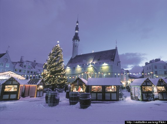 tallinn estonia christmas