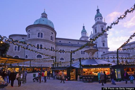 Market Salzburgo natal