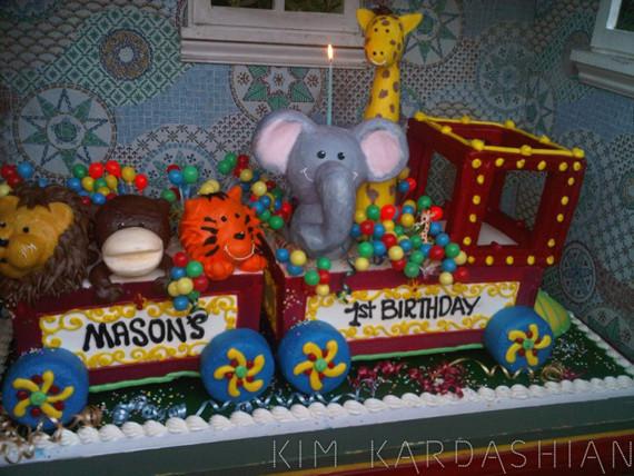 Inside Mason Disick S First Birthday Party Kim Kardashian