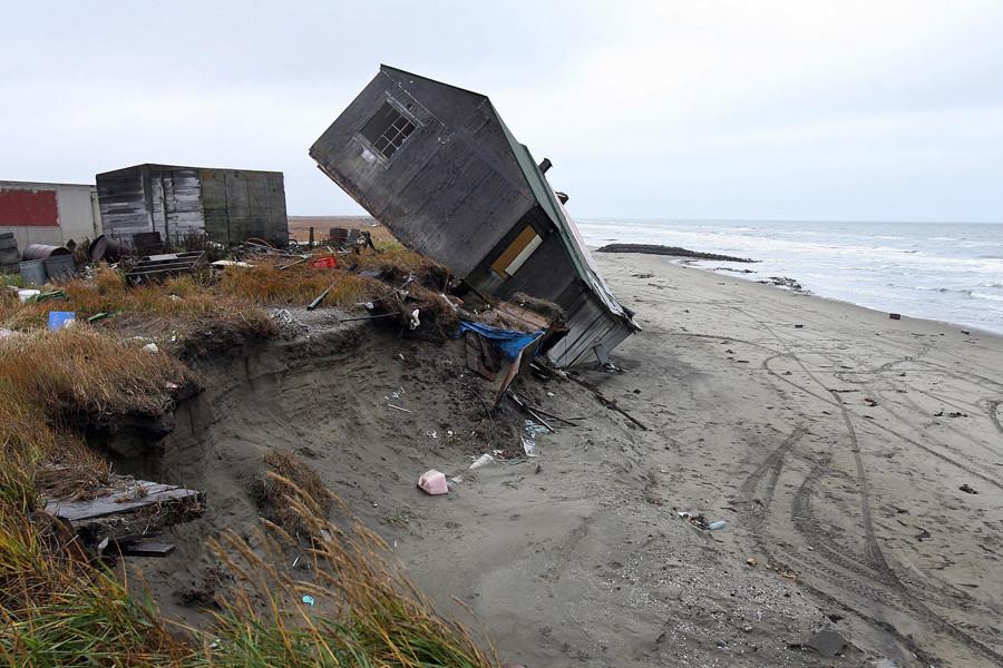 Climate change takes a village as the planet warms a remote alaskan