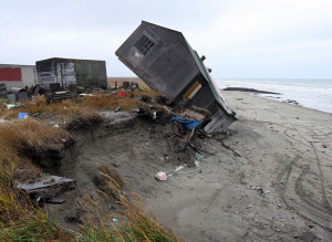 Alaska town shows climate change unpreparedness