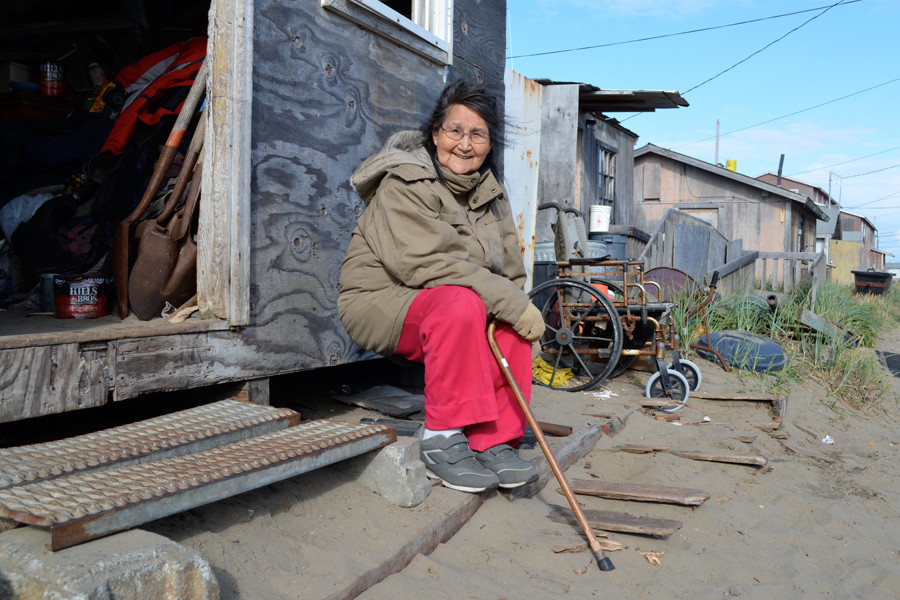 Reeling From Effects of Climate Change, Alaskan Village Votes to ...