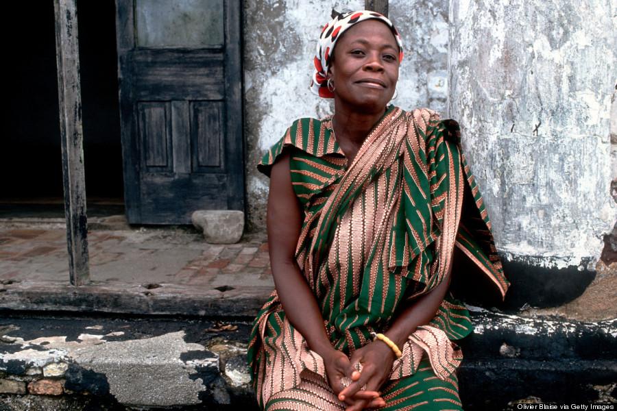 smiling african women