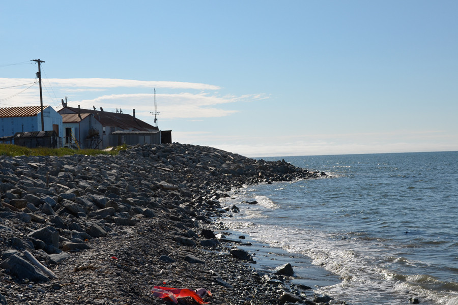 As The Planet Warms, A Remote Alaskan Town Shows Just How ...