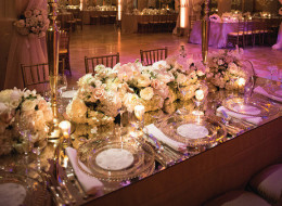 8 Ways To Add Glam Factor To Your Reception