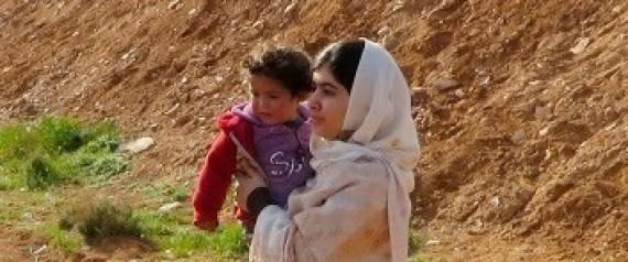 MALALA SYRIA REFUGEE