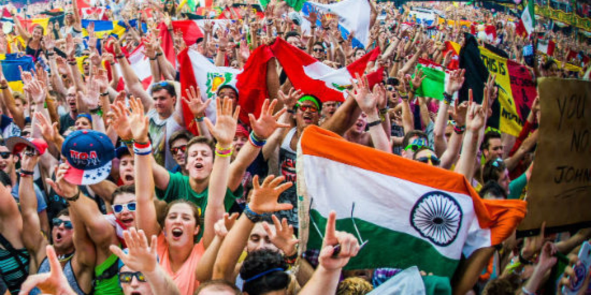 Flag Festival India: India At Tomorrowland