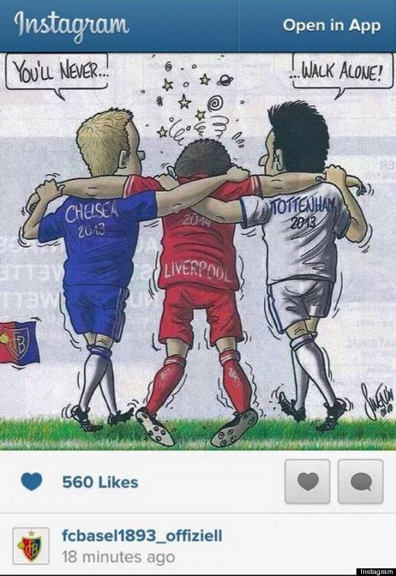 fc basel instagram picture