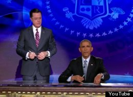 Barack Obama Took Over 'The Colbert Report', And It Was Really Very Amusing