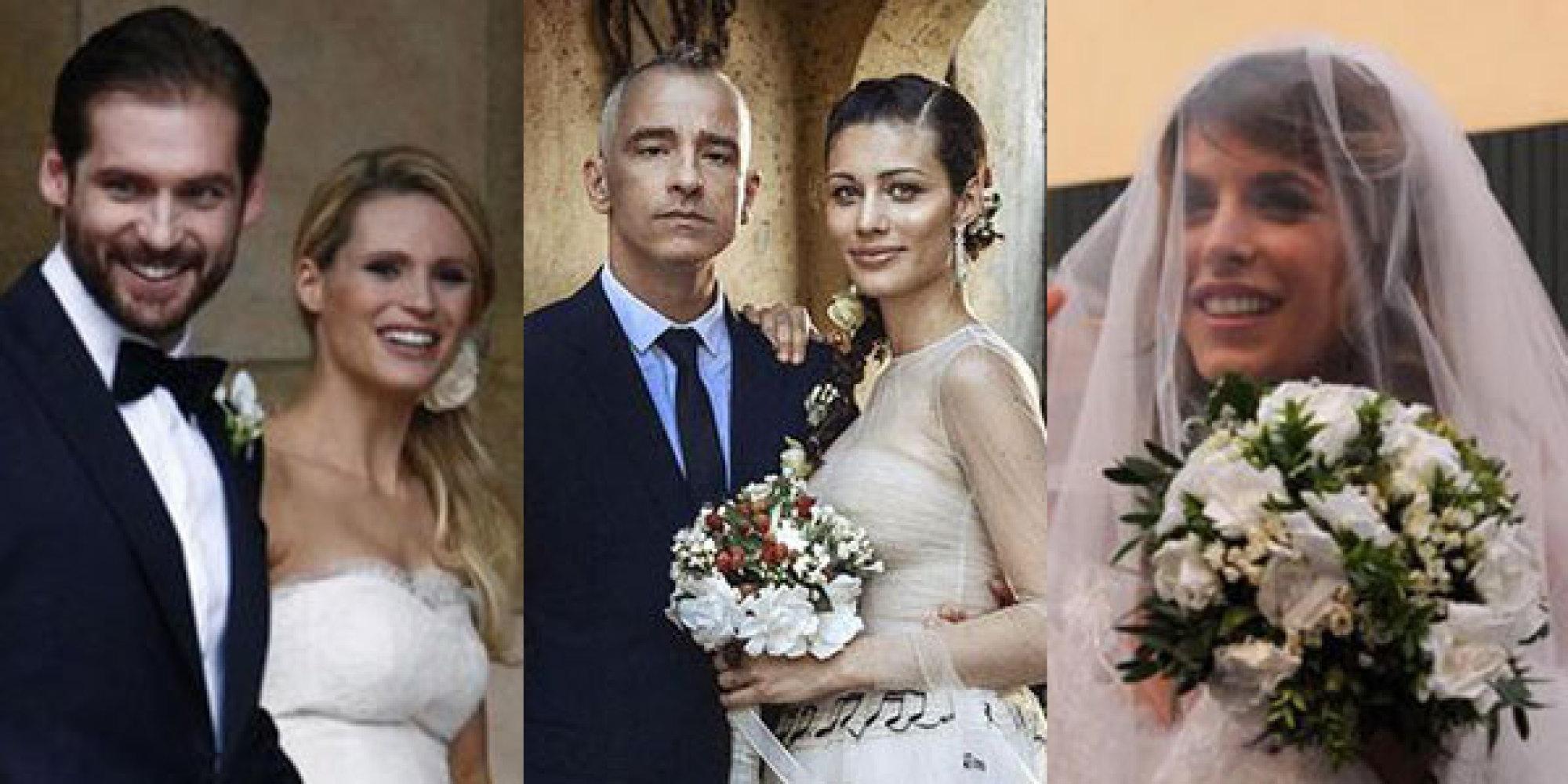 Matrimoni Vip Spiaggia : Matrimoni elisabetta canalis e brian perry michelle