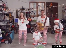The 'Christmas Jammies' Family Are Back With Their 2014 Music Video...