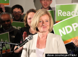 Rachel Notley, Alberta NDP Caucus Hold First Meeting