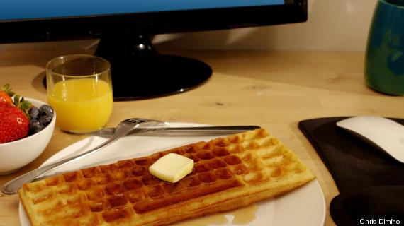 work waffle iron