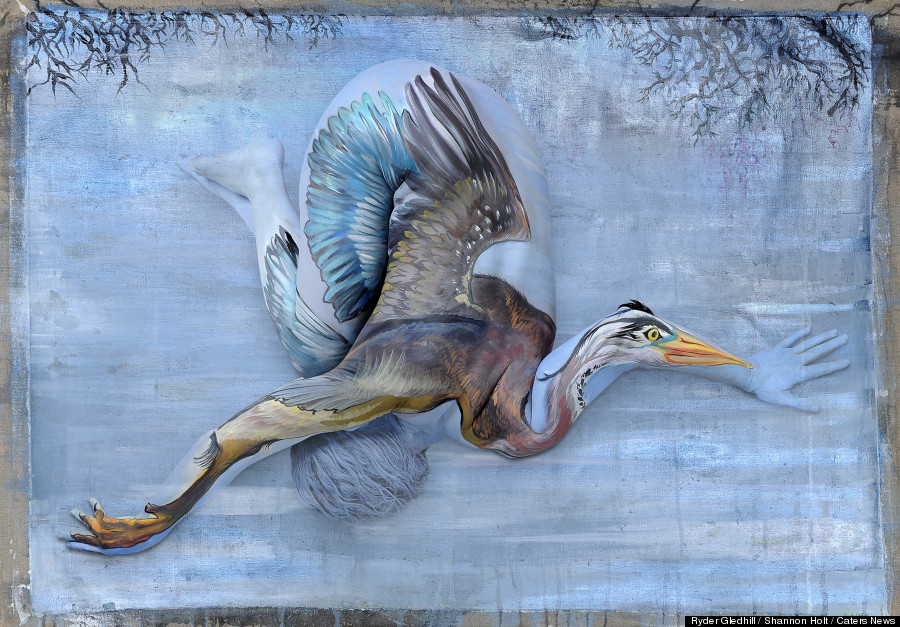 heron body paint
