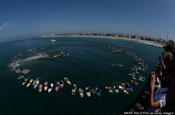 memorial paddle out
