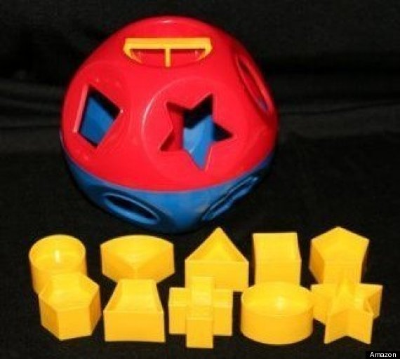 tupperware shape o ball