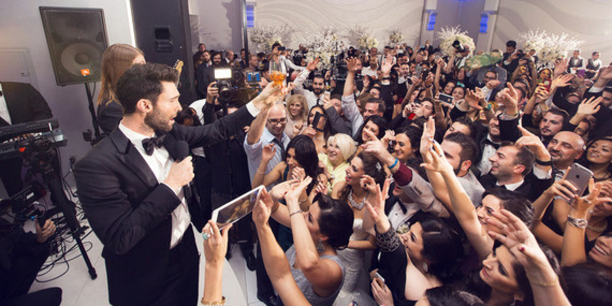 Maroon 5 Just May Be The Best Wedding Crashers Ever Bridal Guide