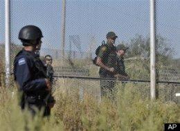 a high tech border fence