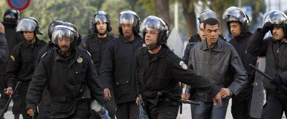 TUNISIA UPRISING